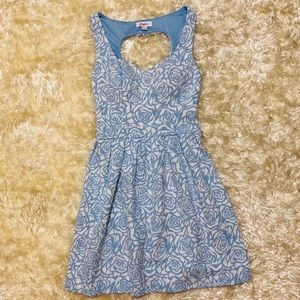 NWOT! CANDIE'S Floral Pleated Dress